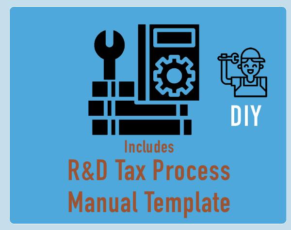 DIY R&D Tax Process Manual Template